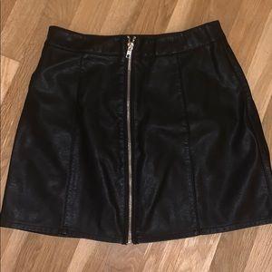 Forever 21 Skirts - Leather skirt NEVER WORN